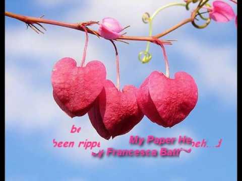 My Paper Heart by Francesca Battistelli + Lyrics