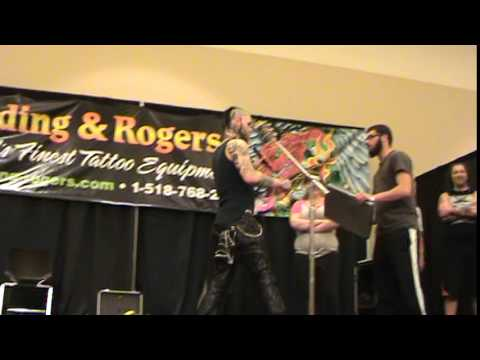 "Lenn Oddity - ""On Stage at the Saratoga Tattoo Expo"""