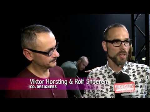 Viktor & Rolf Spring/Summer 2013 - Videofashion