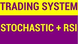 Trading System - Stochastic and RSI Oscillators | HINDI