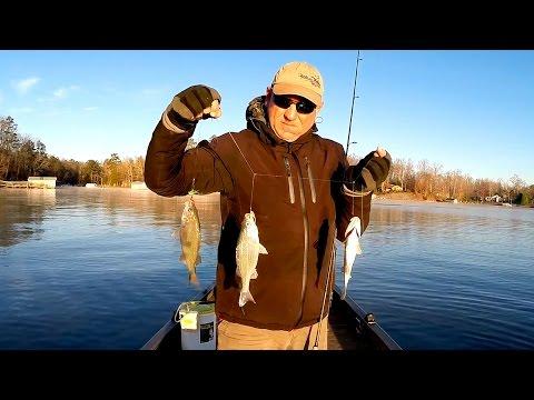 White Perch Fishing On Lake Wylie   Dec 20, 2015