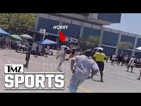 Robert Horry: Punches Thrown At Basketball Tourney | TMZ Sports