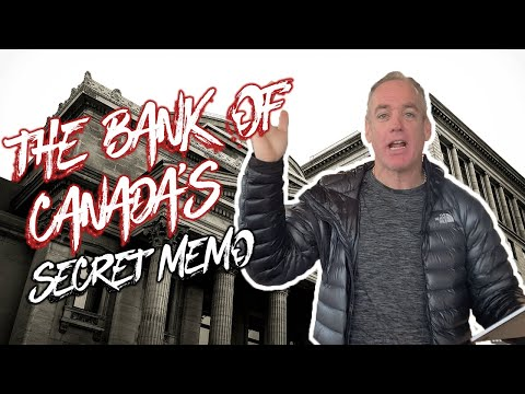 "The Bank of Canada's ""Secret Memo"""