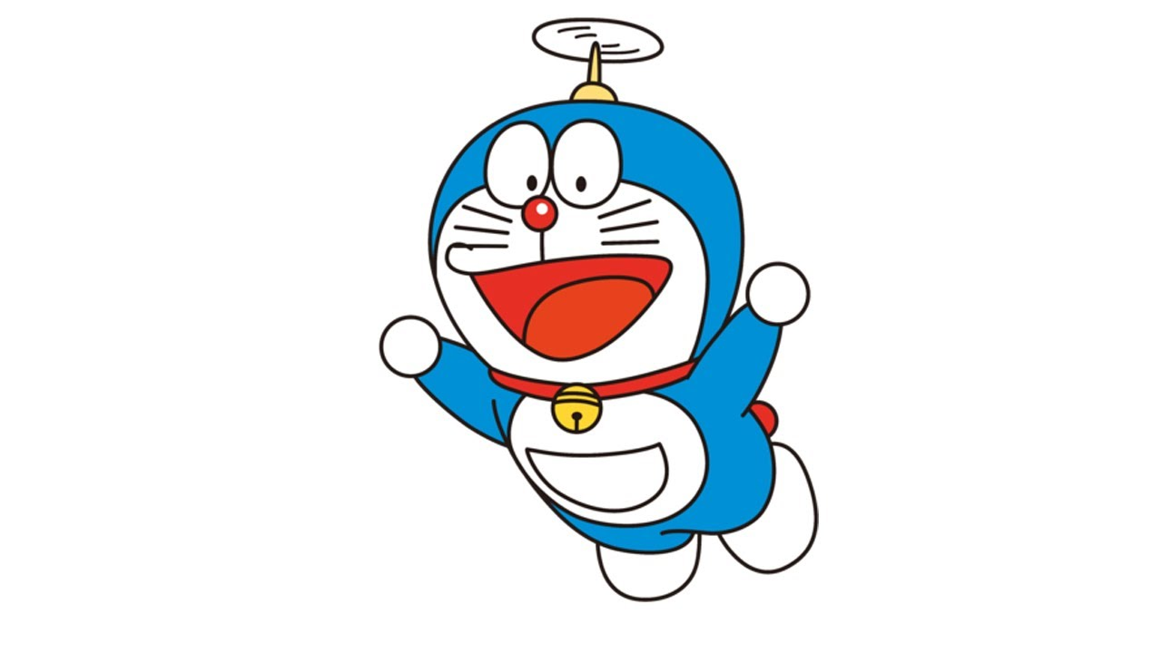 How to Draw Doraemon | Doraemon easy drawing Step by Step ...