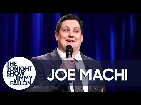 Stand-Up Comedian Joe Machi on The Tonight Show