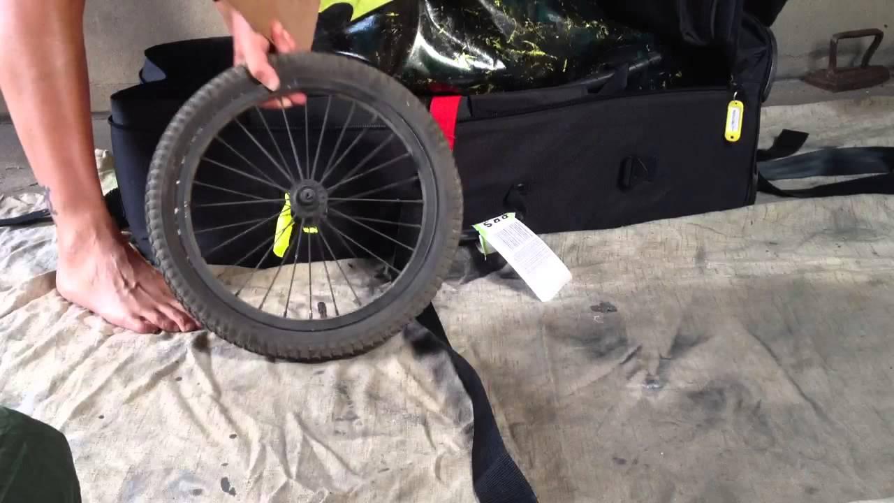Bicycle Trailers Bob Yak Trailer Travel Bag You