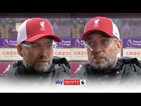 Jurgen Klopp speaks open and honestly after his side's shock 7-2 defeat to Aston Villa