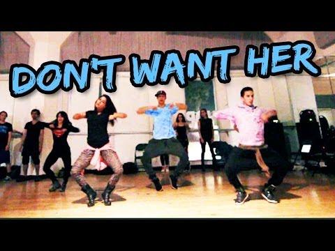 DON'T WANT HER - Eric Bellinger Dance | Choreography By @DanaAlexaNY @MattSteffanina