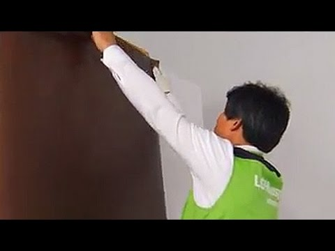 Tutorial For Wallpaper How To Hang Self Adhesive Wallpaper Vinyl Home Depot By Wallstickery Com