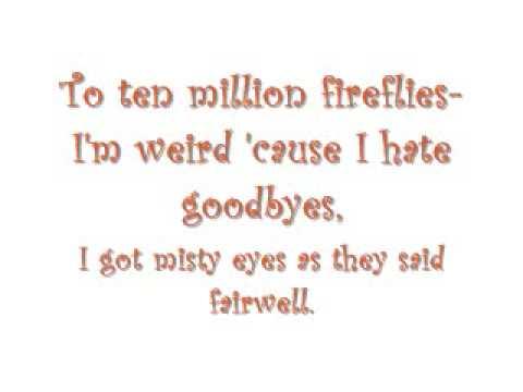 Owl City-Fireflies (Lyircs On Screen+Download Link)