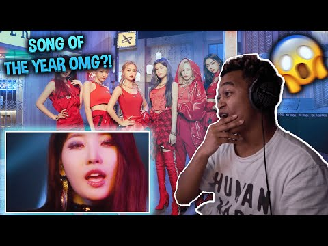 EVERGLOW (에버글로우) - LA DI DA MV - REACTION