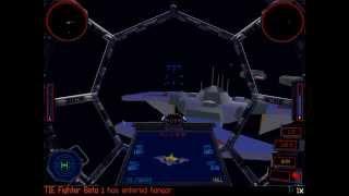 Star Wars Gaming: Tie Fighter Playthrough - Battle 1, Mission 1
