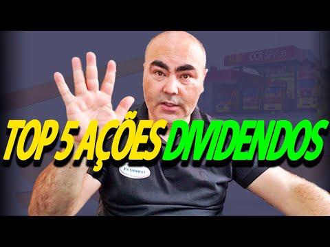 TOP 5 AÇÕES DE DIVIDENDOS | NOVAS APOSTAS | CCRO3 E EGIE3