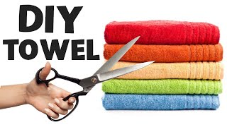 DIY - Genius Life Hacks with Towel
