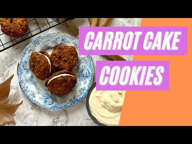 Carrot cake cookies - dolcetti alla carota