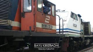 Langsiran CC 201 66 ft. CC 203 11 di Dipo Bandung || INDONESIAN RAILWAYS / KERETA API INDONESIA