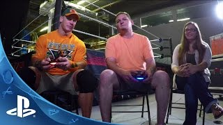 PlayStation HEROES John Cena Plays WWE 2K16