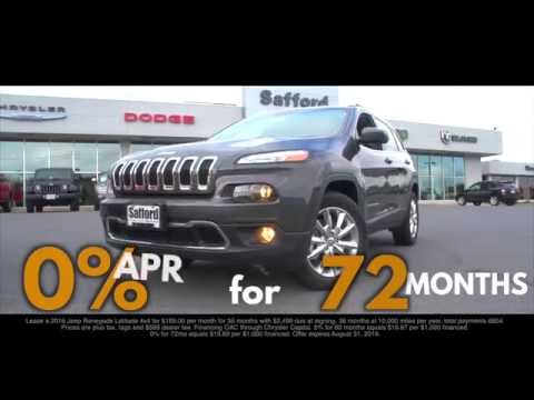 Summer of Jeep Savings This August! | Safford of Springfield