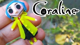 DIY SCARY DOLL CORALINE Polymer Clay Tutorial