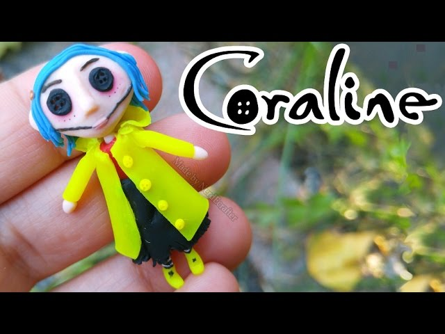 Diy Scary Doll Coraline Polymer Clay Tutorial Youtube