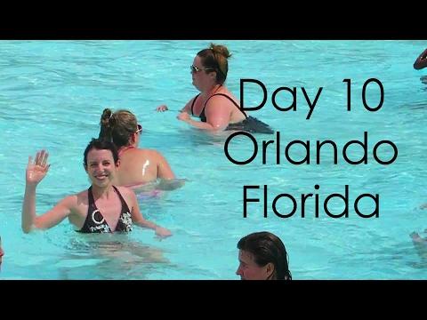 Orlando Florida Vlog Day 10: Wet & Wild, The Outback, Shopping!