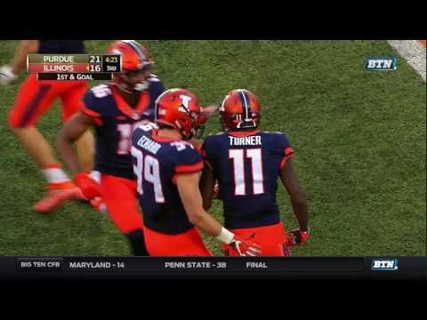 Purdue at Illinois - Football Highlights