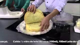Receitas Bom Sabor 01/08/2013 - Bolo quatro leites com morango