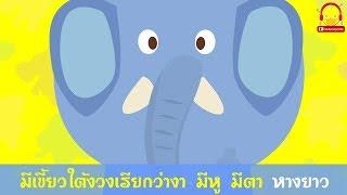 เพลงช้าง | คาราโอเกะ | เพลงเด็ก | ช่อง indysong kids