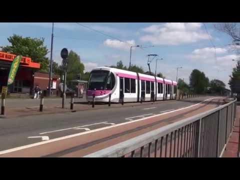Wolverhampton to Birmingham by Metro Tram
