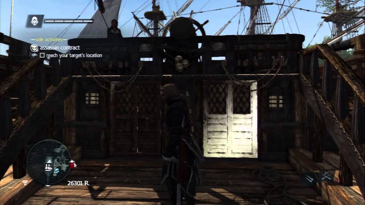 Assassins Creed 4 Black Flag Pirate Captain Outfit Youtube