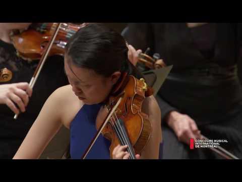 Ayana Tsuji (Japon) - J. Sibelius : Concerto en ré mineur, op. 47