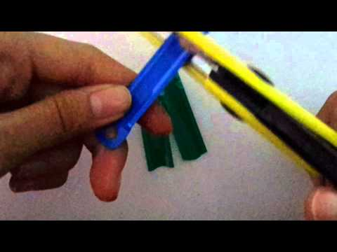 KEYCHAIN/BRACELET:Paper Fastener (Recycle)