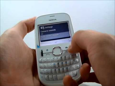 Nokia Asha 200 screen and speaker repair - YouTube