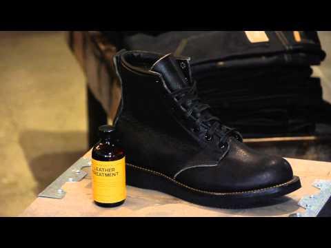 How to Soften or Break-In Men's Boots : Men's Boots & Denim Fashion