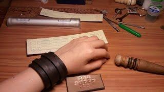 видео Где купить мужской браслет из  кожи