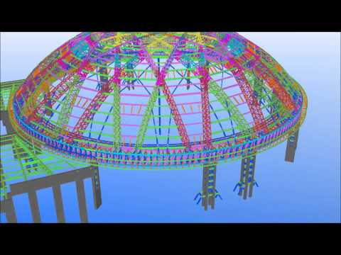Tekla ME BIM Awards 2015 - Sheik Khalifa Bin Zayed Al nahyan Masjed by Eversendai Engineering LLC