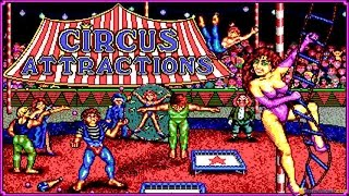 Circus Attractions gameplay (PC Game, 1989)