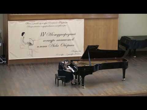 Mozart  Piano Sonata No. 7 in C Major, K. 309 -  Elizaveta Karaulova