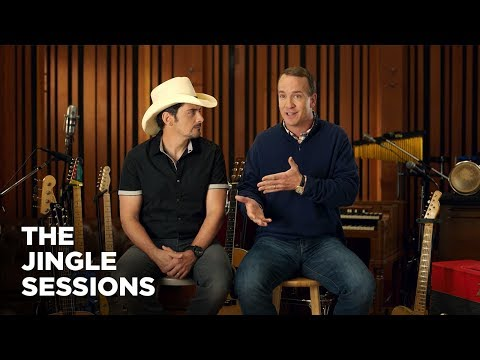 """Peyton Manning and Brad Paisley"" FULL INTERVIEW Commercial  