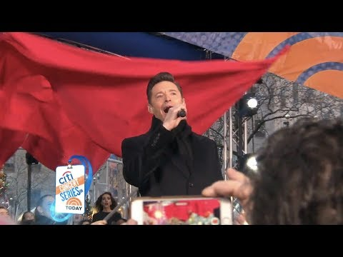Hugh Jackman sings Les Miserables Medley on The Today Show
