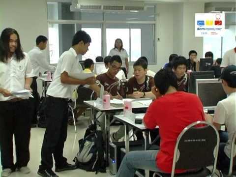 The 2009 ACM-ICPC Asia Phuket Regional Programming Contest 1