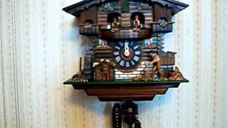 Wood Chopper Cuckoo Hour Strike Find It On Ebay!