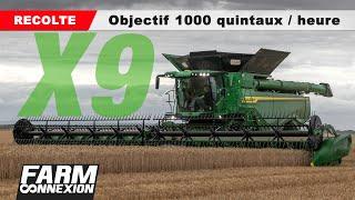 John Deere X9, La Machine Aux 1000 Quintaux Et  1% De Pertes