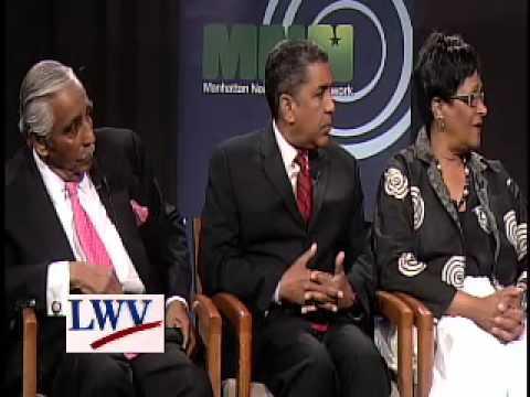 Rep. Rangel and Challengers Debate on MNN