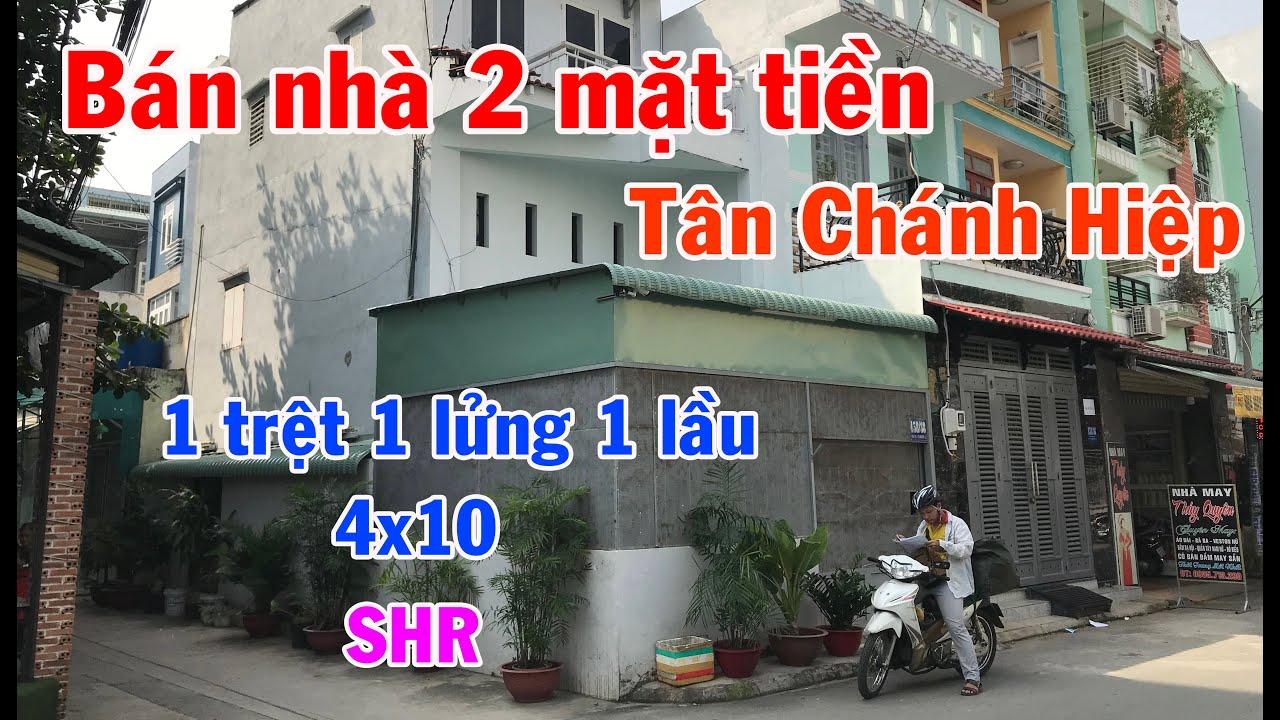 Bán nhà 2 mặt tiền 3 tỷ 860 p.Tân Chánh Hiệp, Q12