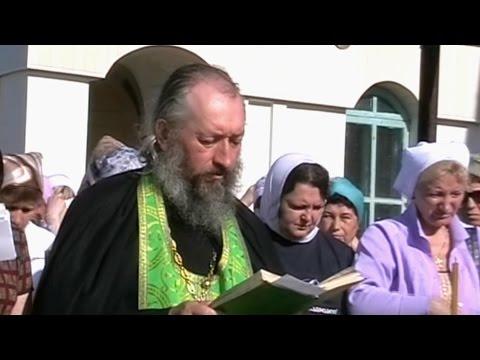 Праздник Святой Троицы в Свято-Троицком Каменно-Бродском Белогорском мужском монастыре.