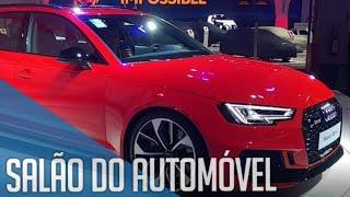 Salão do Automóvel SP 2018 - Novidades da Audi