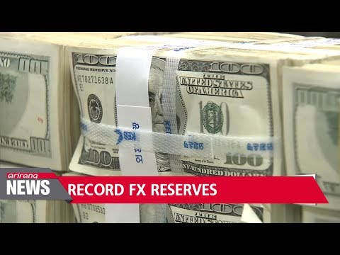 South Korea's FX reserves hit record high of US$395.75 bil. in January