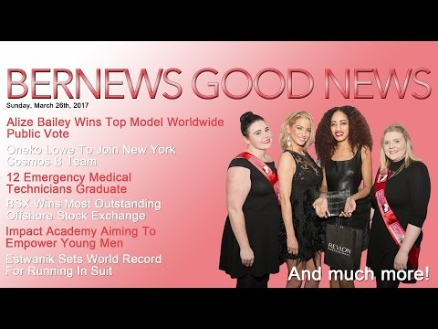 "Bernews ""Good News"" Sunday Spotlight, March 26, 2017"