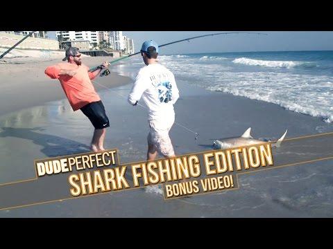Dude Perfect: Shark Fishing Battle BONUS Video